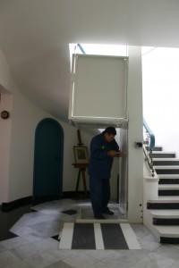 Instalación de solución para discapacitados
