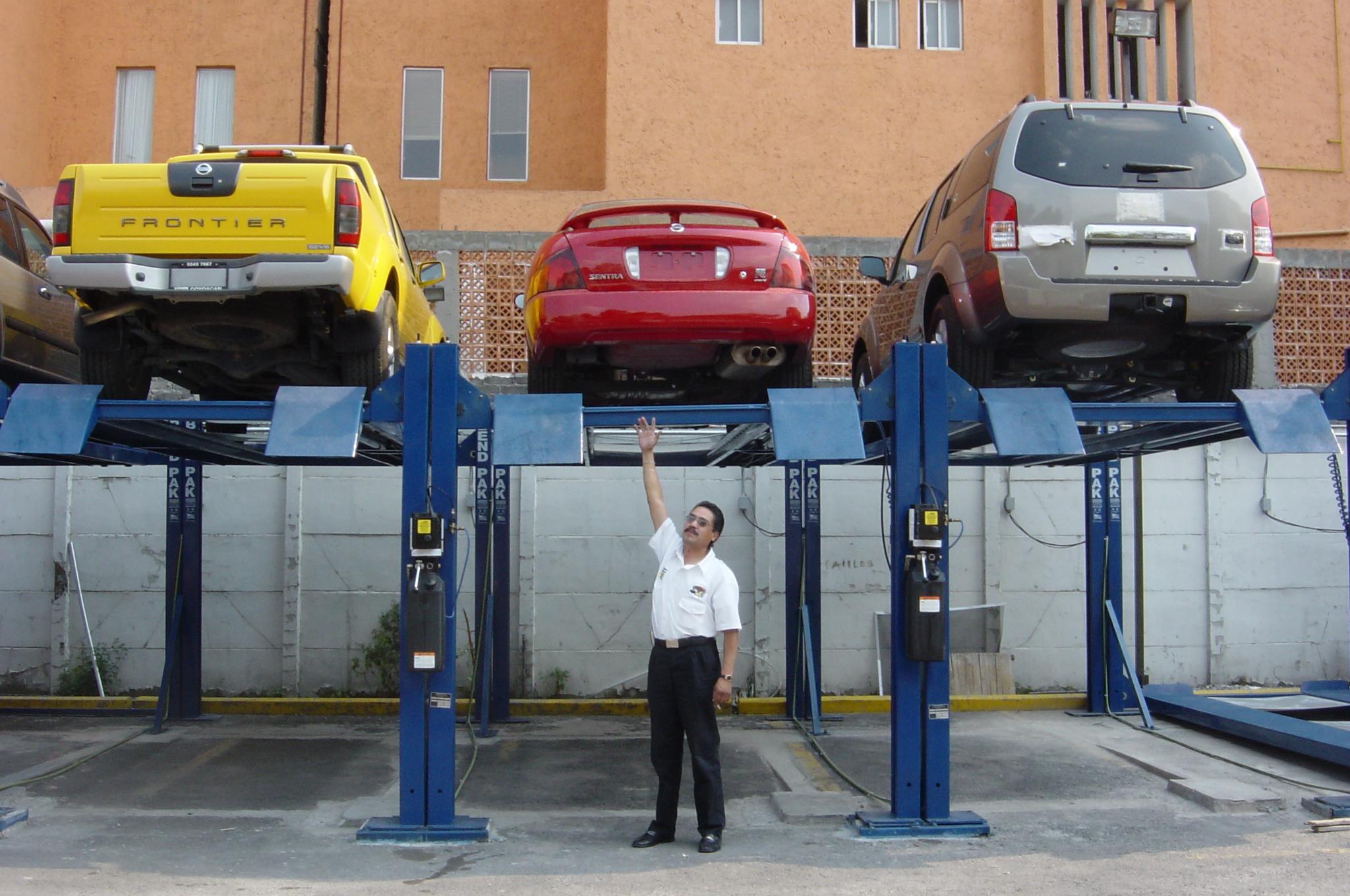Elevautos estacionamiento