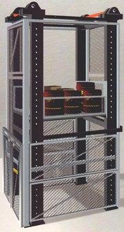 Elevador carga estructura